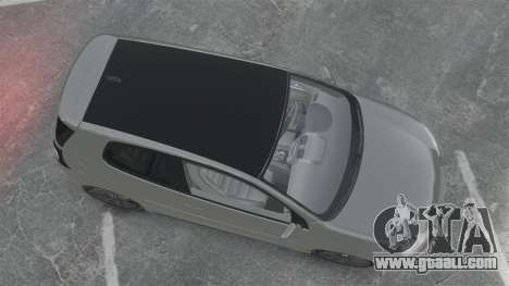 Volkswagen Golf GTi DT-Designs for GTA 4 right view