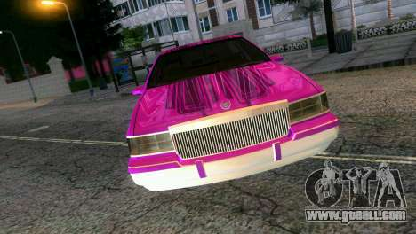 Cadillac Fleetwood Coupe for GTA Vice City right view
