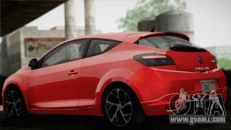 Renault Megane RS Tunable for GTA San Andreas wheels