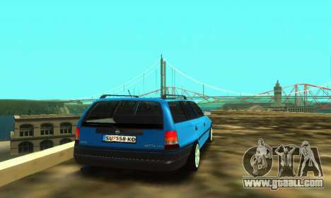 Opel Astra F Caravan for GTA San Andreas back view
