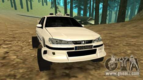 Peugeot 406 Grizzli for GTA San Andreas left view