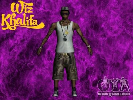 Wiz Khalifa for GTA San Andreas