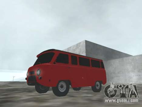 UAZ 22069 for GTA San Andreas left view