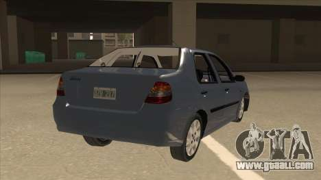 Fiat Siena Ex for GTA San Andreas right view