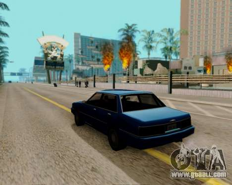ENBSeries for powerful PC for GTA San Andreas second screenshot