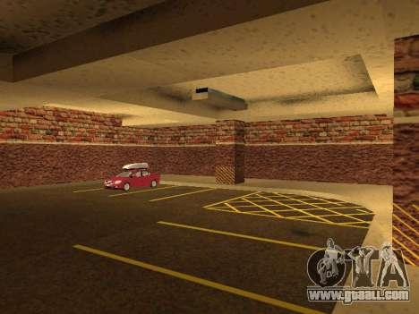 New interior police HP garage for GTA San Andreas sixth screenshot