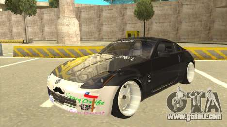 Nissan 350z SimpleDrift for GTA San Andreas