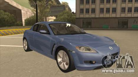 Mazda RX8 Tunable for GTA San Andreas left view