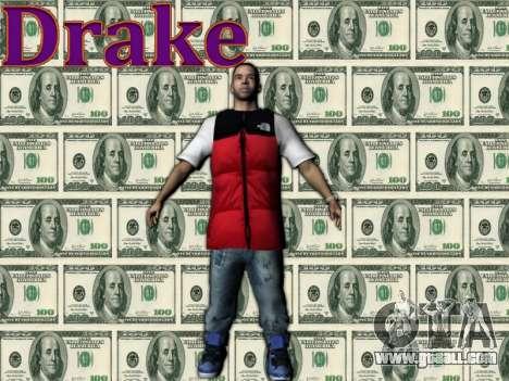 Drake for GTA San Andreas