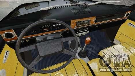 GAZ 2402-4 x 4 pickup truck for GTA 4 inner view