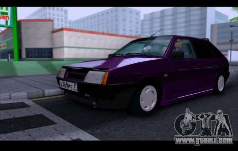 VAZ 21093 for GTA San Andreas side view