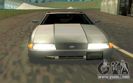 Elegy Cabrio for GTA San Andreas right view