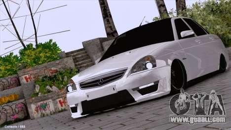 Lada Priora AMG Version for GTA San Andreas