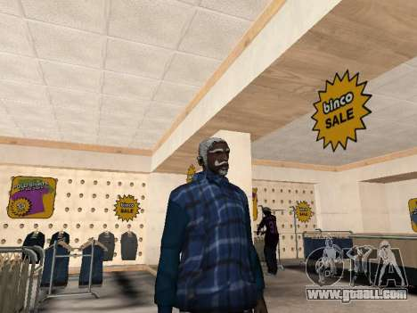 The new CJ jacket for GTA San Andreas second screenshot