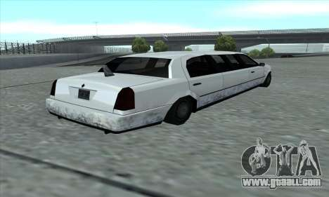 The Stretch of GTA 5 for GTA San Andreas back left view