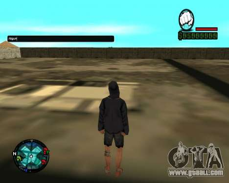 Cleo Gun for SA:MP (dgun) for GTA San Andreas