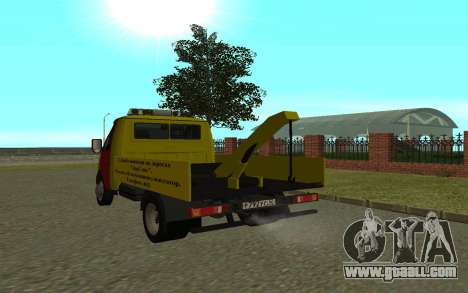 3302 Gazelle tow truck Business for GTA San Andreas right view