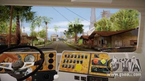International 4700 for GTA San Andreas inner view