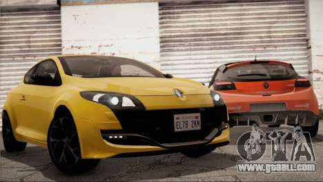Renault Megane RS Tunable for GTA San Andreas