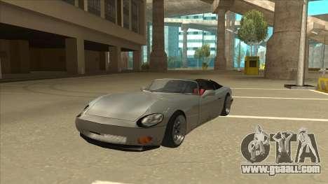 Banshee Stance for GTA San Andreas