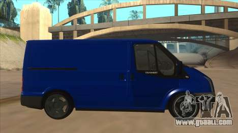 Ford Transit Swb 2011 Stance for GTA San Andreas back left view