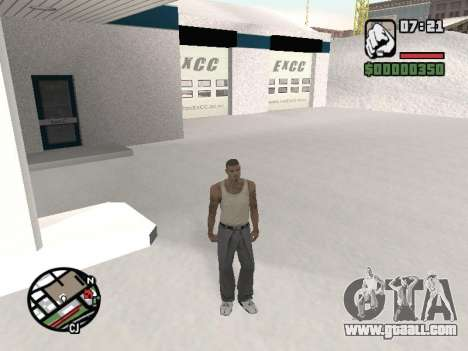 Switching between characters as in GTA V for GTA San Andreas third screenshot