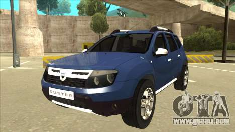 Dacia Duster 2014 for GTA San Andreas