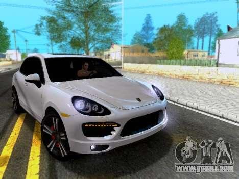Porsche Cayenne Turbo S 2013 V1.0 for GTA San Andreas