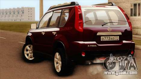 Nissan X-Trail 2009 for GTA San Andreas left view