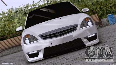 Lada Priora AMG Version for GTA San Andreas left view