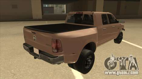 Dodge Ram [Johan] for GTA San Andreas right view