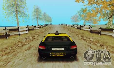 Mercenaries 2 Taxi for GTA San Andreas right view