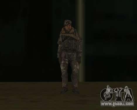 Soap MacTavish for GTA San Andreas third screenshot