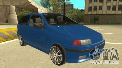 Fiat Punto MK1 Tuning for GTA San Andreas left view