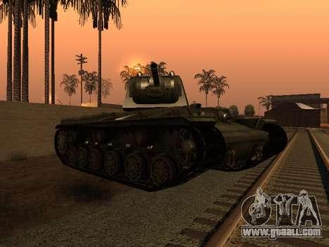 KV-1 for GTA San Andreas right view
