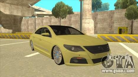 VW Passat CC for GTA San Andreas left view