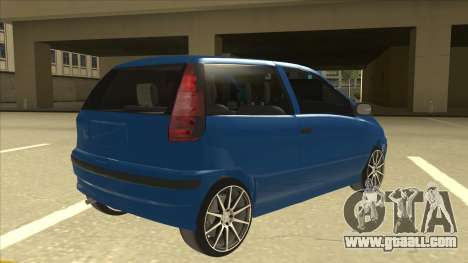 Fiat Punto MK1 Tuning for GTA San Andreas right view