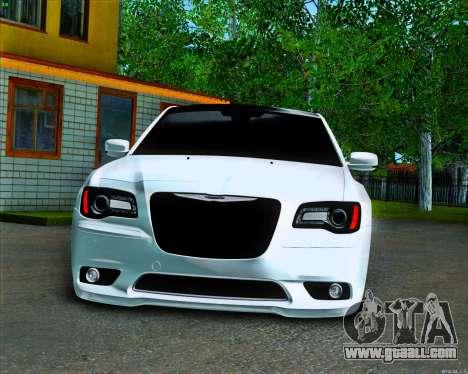 Chrysler 300 c SRT-8 MANSORY_CLUB for GTA San Andreas inner view