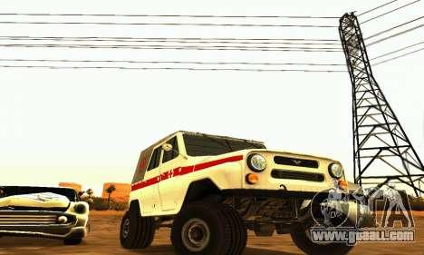 UAZ 469 Ambulance for GTA San Andreas