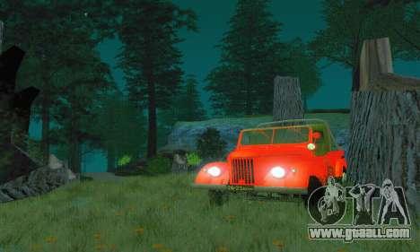 GAZ 69 Pickup for GTA San Andreas right view