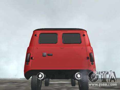 UAZ 22069 for GTA San Andreas back left view