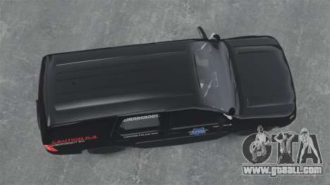Chevrolet Tahoe 2010 PPV SFPD v1.4 [ELS] for GTA 4 right view