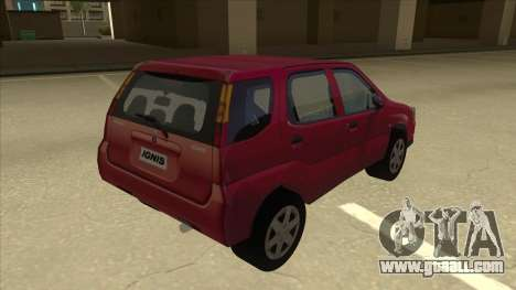 Suzuki Ignis for GTA San Andreas right view