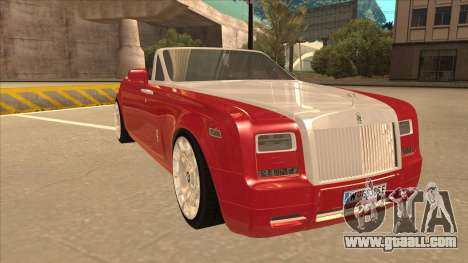 Rolls Royce Phantom Drophead Coupe 2013 for GTA San Andreas left view