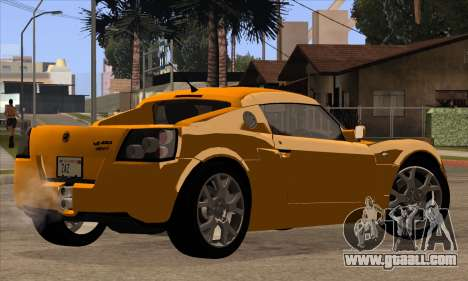 Vauxhall VX220 Turbo 2004 for GTA San Andreas side view