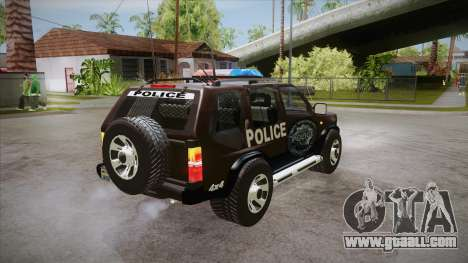 Nissan Terrano RB26DETT Police for GTA San Andreas right view
