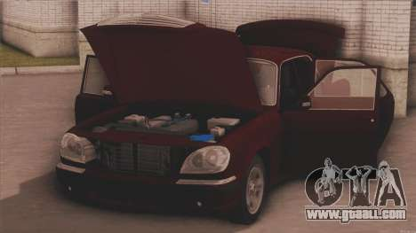 GAZ 31105 for GTA San Andreas back left view
