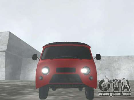 UAZ 22069 for GTA San Andreas back view