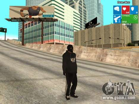 Bad guy for GTA San Andreas