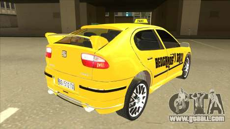 Seat Leon Belgrade Taxi for GTA San Andreas right view